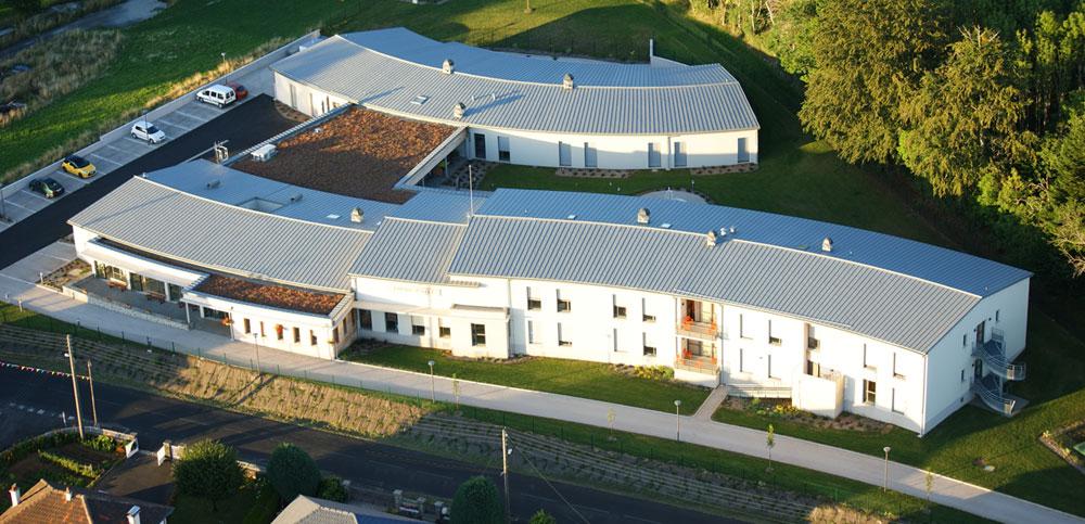 Maison de retraite EHPAD d'Ally dans le Cantal